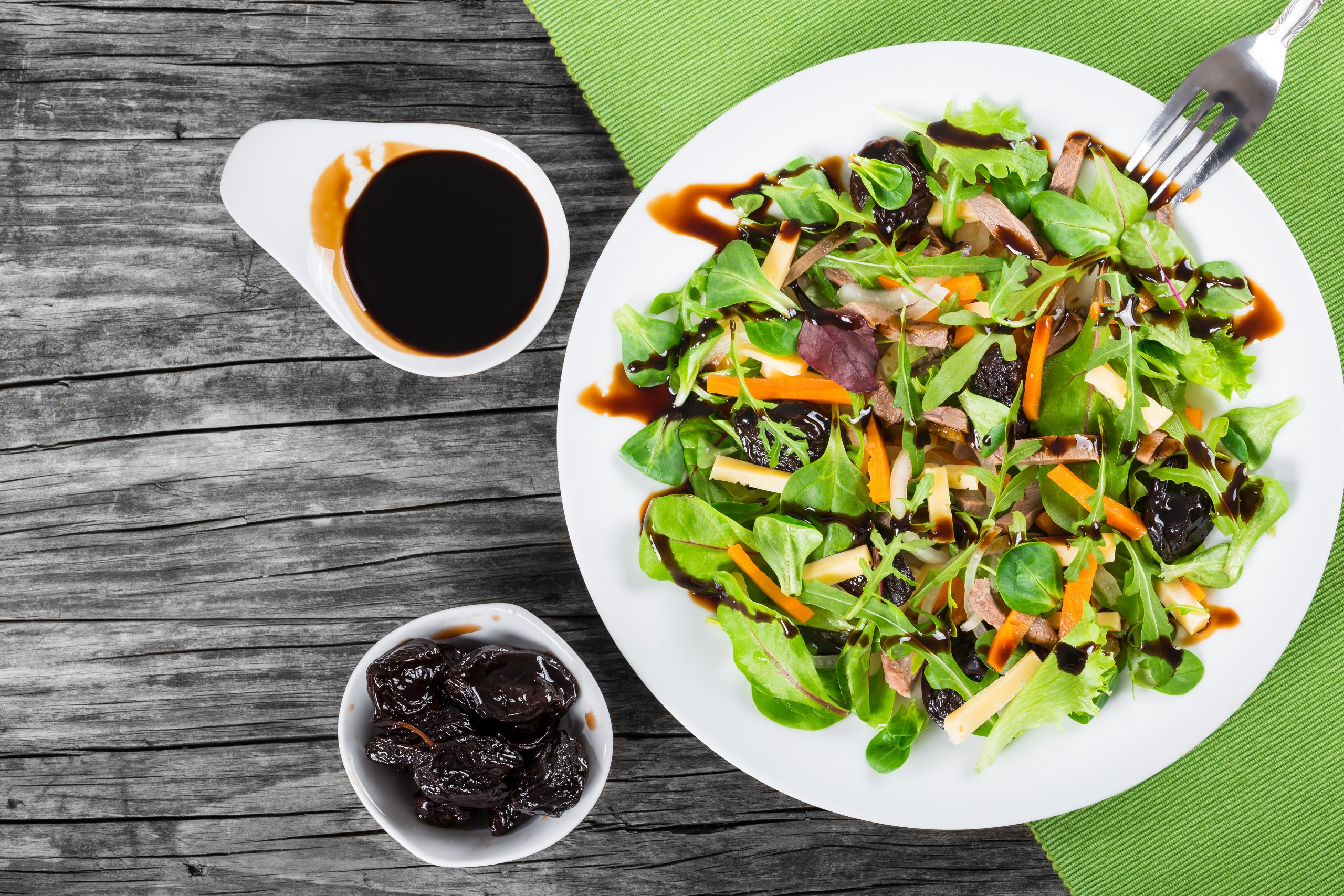 Wines and Gourmet Foods Center, Salad with Balsamic Vinaigrette