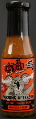 Wines and Gourmet Foods Center, Chilli Factory: Morning After Burn 240ml