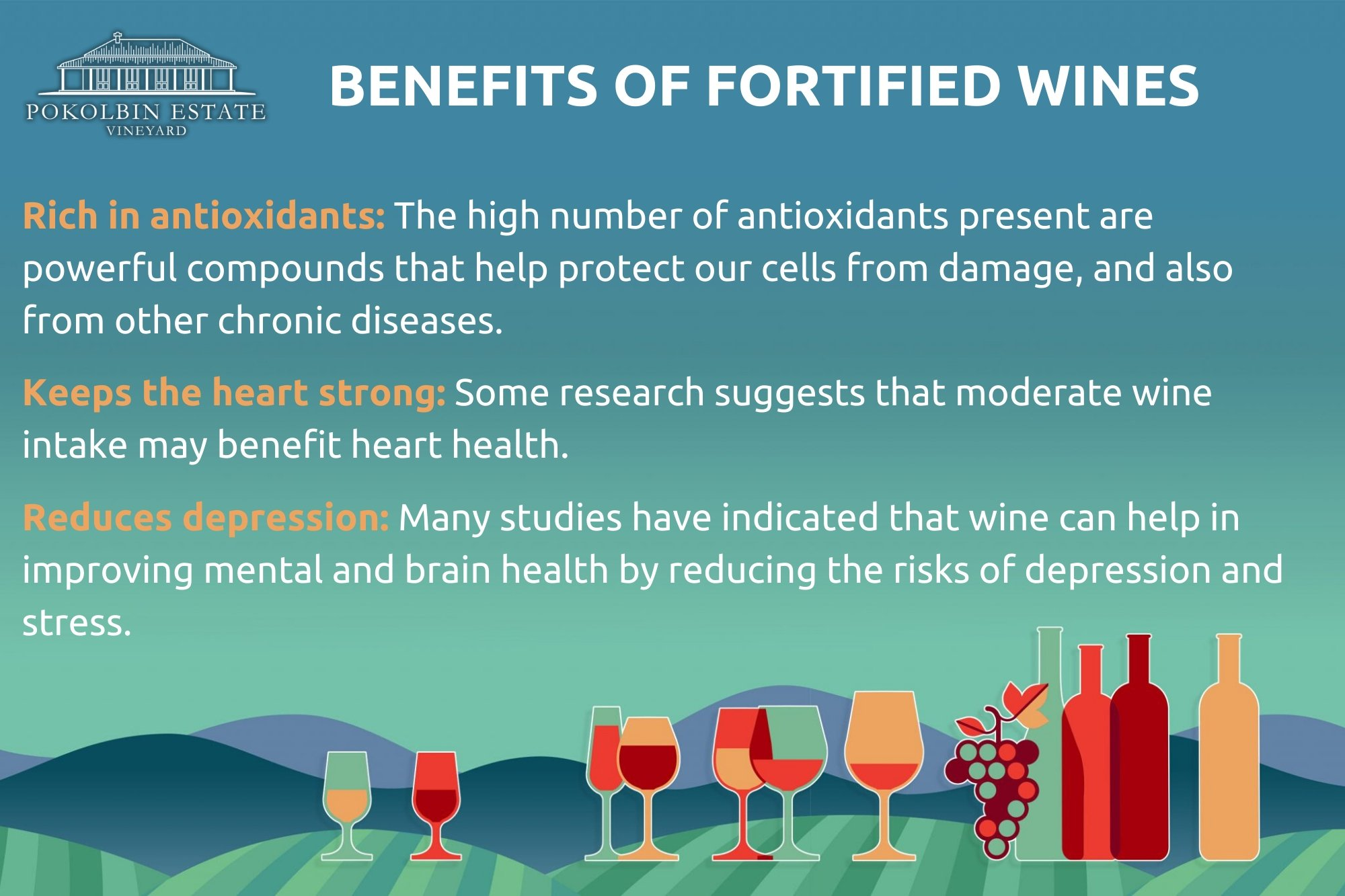 benefits of fortified wines